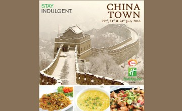 China Town Food Fest at Holiday Inn