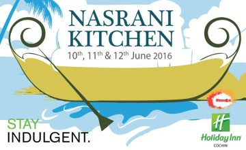 Nasrani Kitchen at Holiday Inn, Kochi