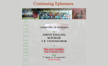 Continuing Ephemera - Painting Exhibition