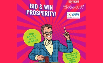 BID and WIN Prosperity at Lulu Mall