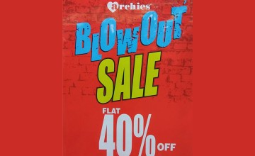 Archies Blowout Sale