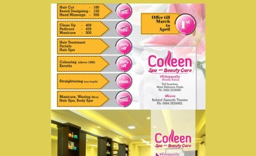 Exciting Offers from Colleen Spa and Beauty care