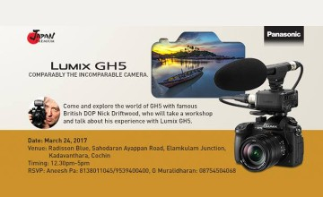 Lumix GH5 Workshop With Nick Driftwood