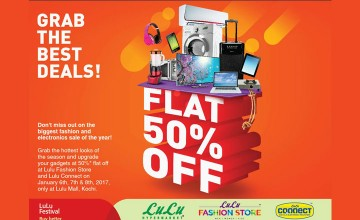 Big Sale of Flat 50% Off