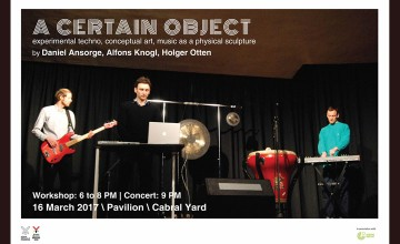 A certain object - Workshop and Concert