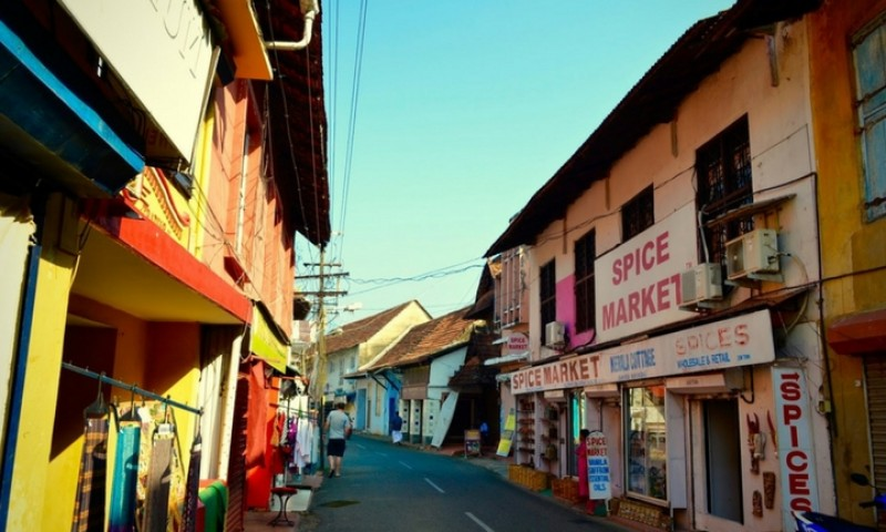 Colors of Fort Kochi