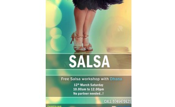 Solo Salsa Workshop at RBC