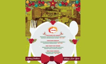 Christmas - New Year Food Fests By Holiday Inn