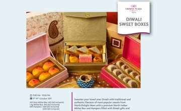 Diwali Sweet Boxes By Crowne Plaza