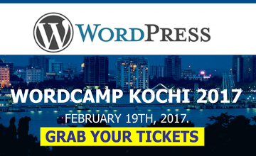 Wordcamp Kochi 2017 - WordPress Conference