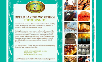 Bread Baking Workshop for Beginners