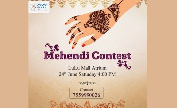 Mehendi Contest by Lulu Mall