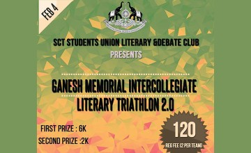 Ganesh Memorial Literary Triathlon - Competitions