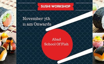 Sushi Workshop in Kochi