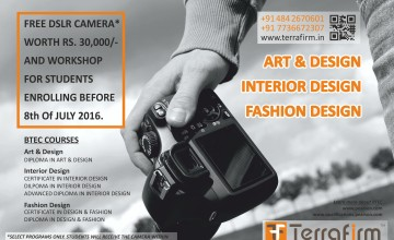 Free DSLR Camera Worth 30,000/- plus photography workshop