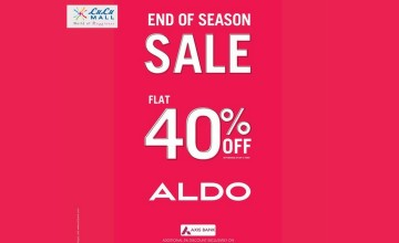 End Of Season Sale at Aldo
