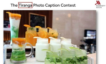 Freedom Contest for Dining Voucher At Kochi Marriott