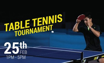 Table Tennis Tournament at  Decathlon