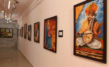 Painting Exhibition by Sanjeev Kongorpilly