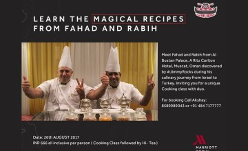 Learn The Magical Recipes From Fahad And Rabih
