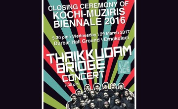 Closing Ceremony of Kochi Muziris Biennale 2016