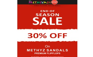 The Methiyadi Stop - 30% Off