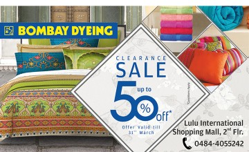 50% off at Bombay Dyeing