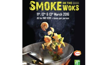 Smoke on the Woks from Holiday Inn