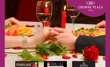 Valentines Day Dinner at Crowne Plaza