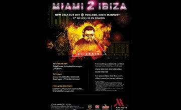 Miami 2 Ibiza New Year Eve 2017