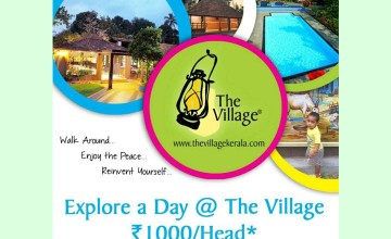 Explore a day at The Village Resort for Just Rs:1000/-