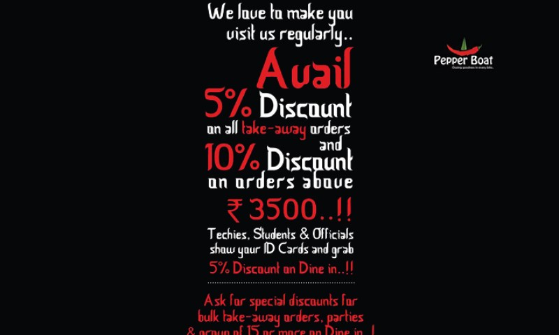 Special Offers from Pepper Boat