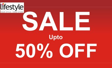 Upto 50% Off at Lifestyle
