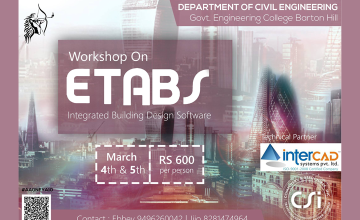 Workshop on ETABS