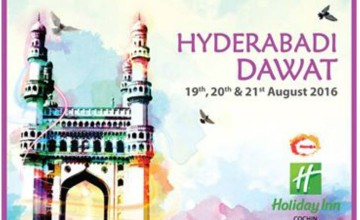 Hyderabadi Dawat at Holiday Inn