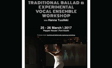 Traditional Ballad & Experimental Vocal Ensemble Workshop