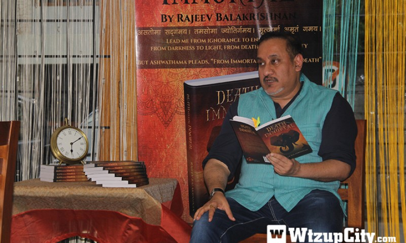 "In Conversation With Rajeev Balakrishnan, The Author Of ""Death Seeking Immortal"""