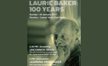 Laurie Baker:100 Years - Screening and Discussion
