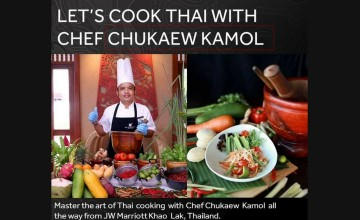 Let's cook Thai with chef Chukaew Kamol - Food Fest