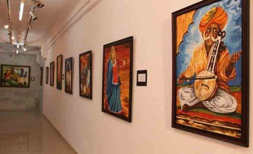 Painting Exhibition by Paris Mohan Kumar