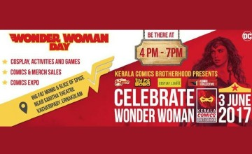 Wonder Woman Day Celebrations and Fans Meetup