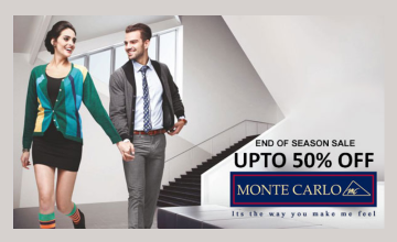 End Of Season Sale at Monte Carlo
