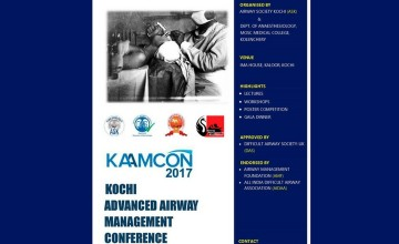 Kochi Advanced Airway Management Conference 2017