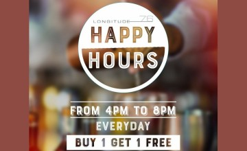 Happy Hours At Le Meridien