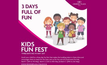 Kids Fun Fest by Crowne Plaza