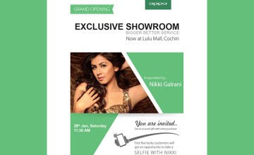 Grand Opening of Oppo Showroom