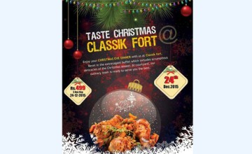 TASTE CHRISTMAS AT CLASSIK FORT