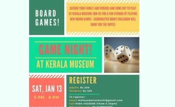 Museum Game Night