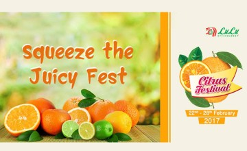 Squeeze The Juicy Citrus Fest