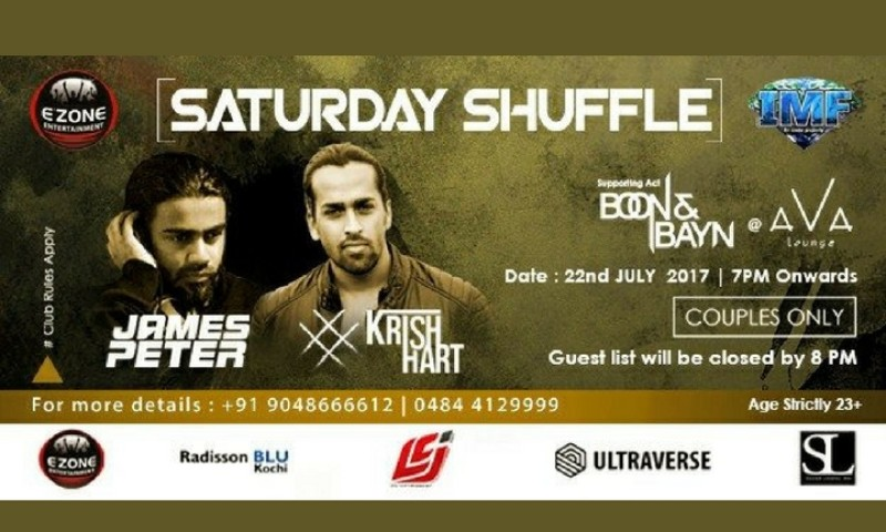 Saturday Shuffle - Live Music Party